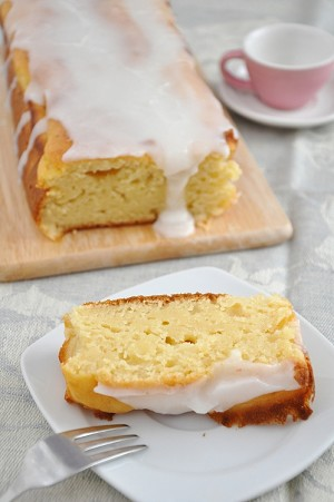 Meyer Lemon Pound Cake Mix with Glaze