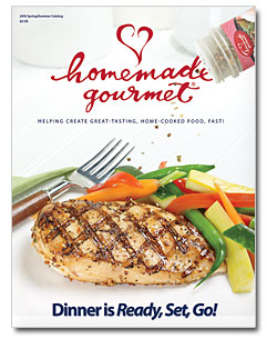 Homemade Gourmet 2010 Spring Summer Catalog
